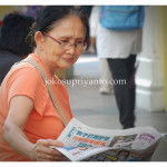 Budaya Membaca Koran