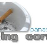 Asbak smoking corner
