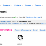 Flickr Pro Account